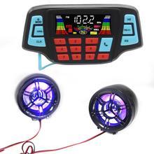 Мотоцикл аудио Громкая связь Bluetooth стерео колонки FM радио звуковая система аксессуары водонепроницаемый мотор MP3 музыкальный плеер