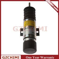 D610-A1V12 Kecepatan Solenoid 12 V untuk Kubota WG-750/DF-752/DF-972 Mesin D1105/Z482 untuk Ford Z-34-22/ z-45-22