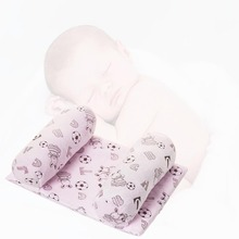 Baby Infant Newborn Pillow Anti Roll Support Sleep Head Positioner Anti-rollover Pillows YJS Dropship