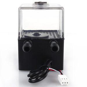 Image 5 - 水冷却循環ポンプ超静音水ポンプ & ポンプタンクパソコンのcpu液体冷却コンピュータシステムSC 300 t 12 12 v dc車