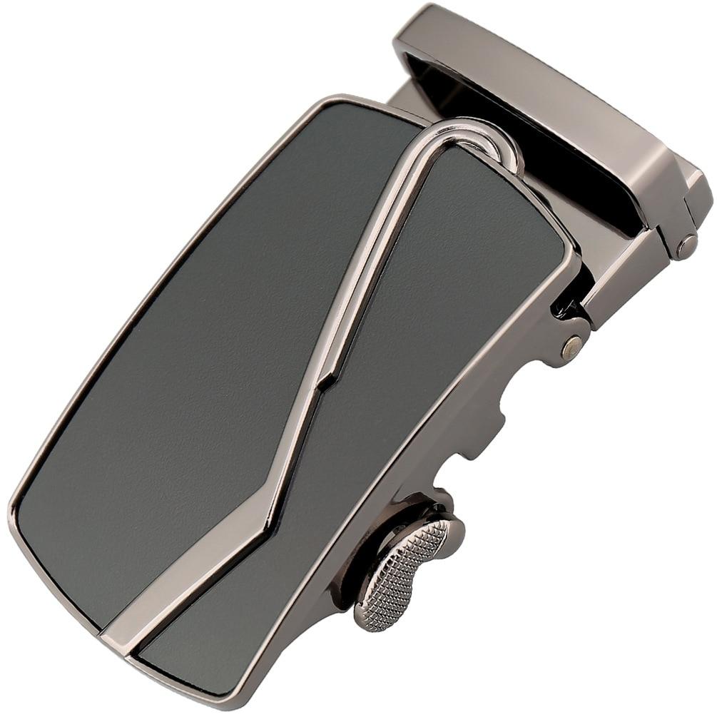 3.5cm Width Mens Belt Buckle Head Hot Automatic Buckle Pants Men's Leather Belt Buckle Zinc Alloy Buckle Black Brown CE25-1424
