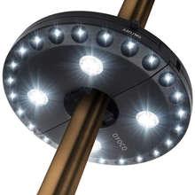 28 светодиодов 3 уровня зонтик Полюс светильник, Модный женский зонт защищающий от светодиодный светильник затемнения чистый белый кемпинг на открытом воздухе палатки лампа аварийный светильник