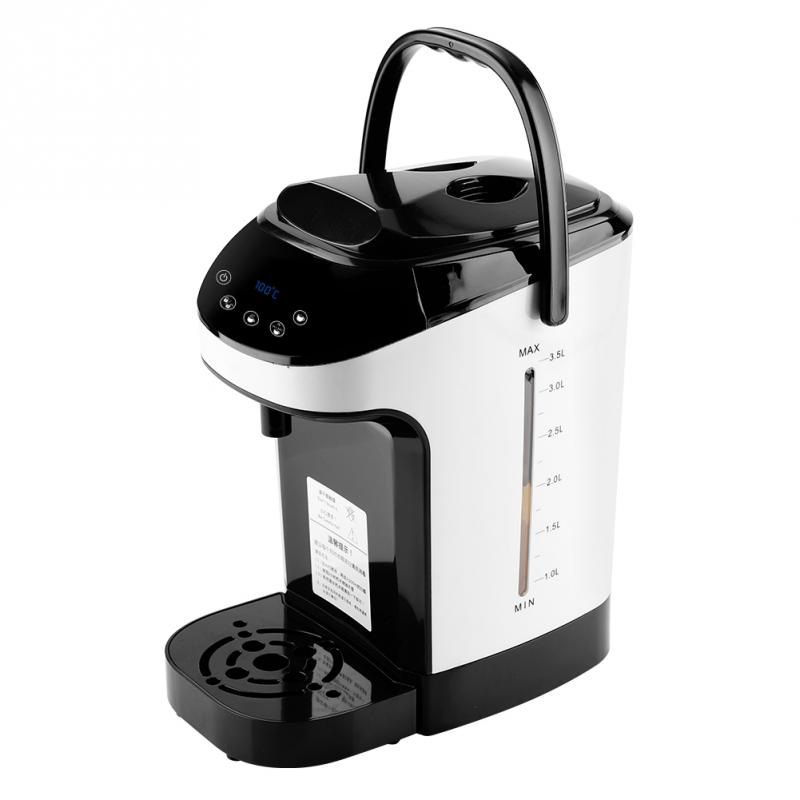 2000W 220V 3.5L Electric Kettle Water Boiler Warmer Instant Bouilloire Electrique Chaleira Dispenser Temperature Adjustable Hot-in Electric Kettles from Home Appliances    1