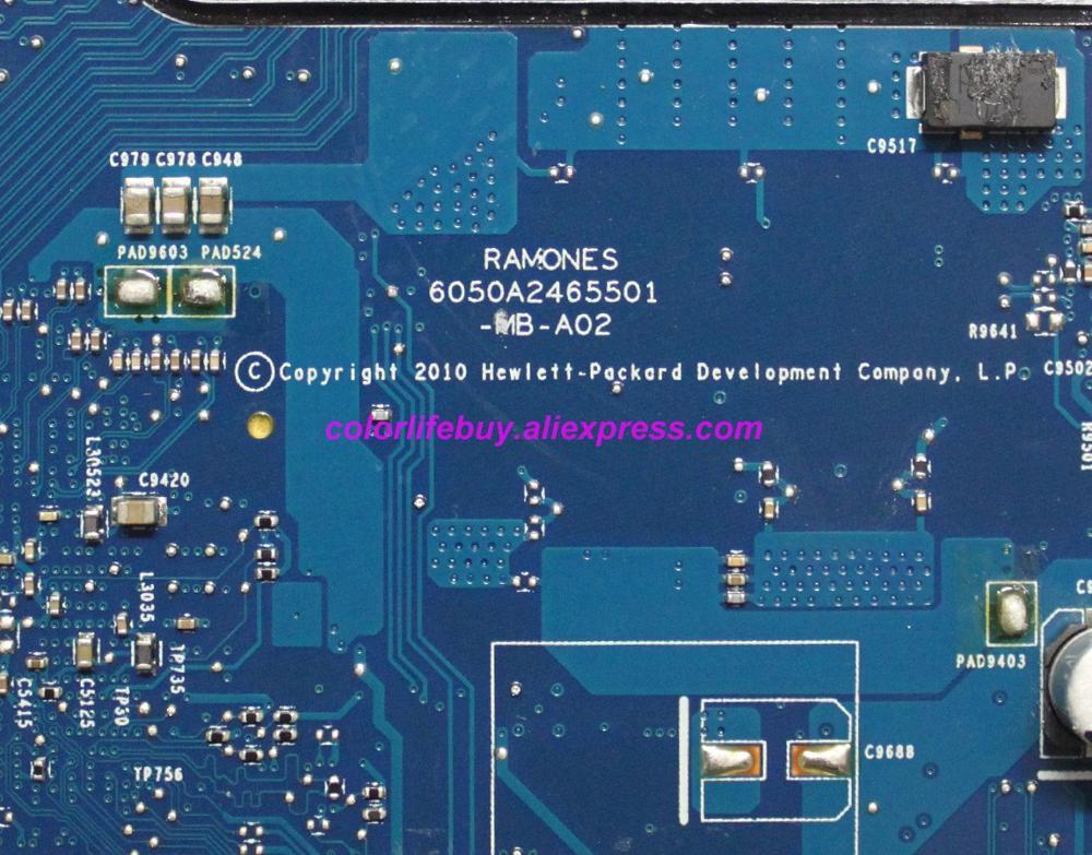 Image 4 - Подлинная 646246 001 6050A2465501 MB A02 Материнская плата ноутбука для hp ProBook 4530 S 4730 S серии ноутбук ПК-in Материнская плата для ноутбука from Компьютер и офис