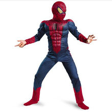 Menino incrível spiderma filme personagem clássico muscular surpresa fantasia super-herói halloween carnaval cosplay feestkostuum