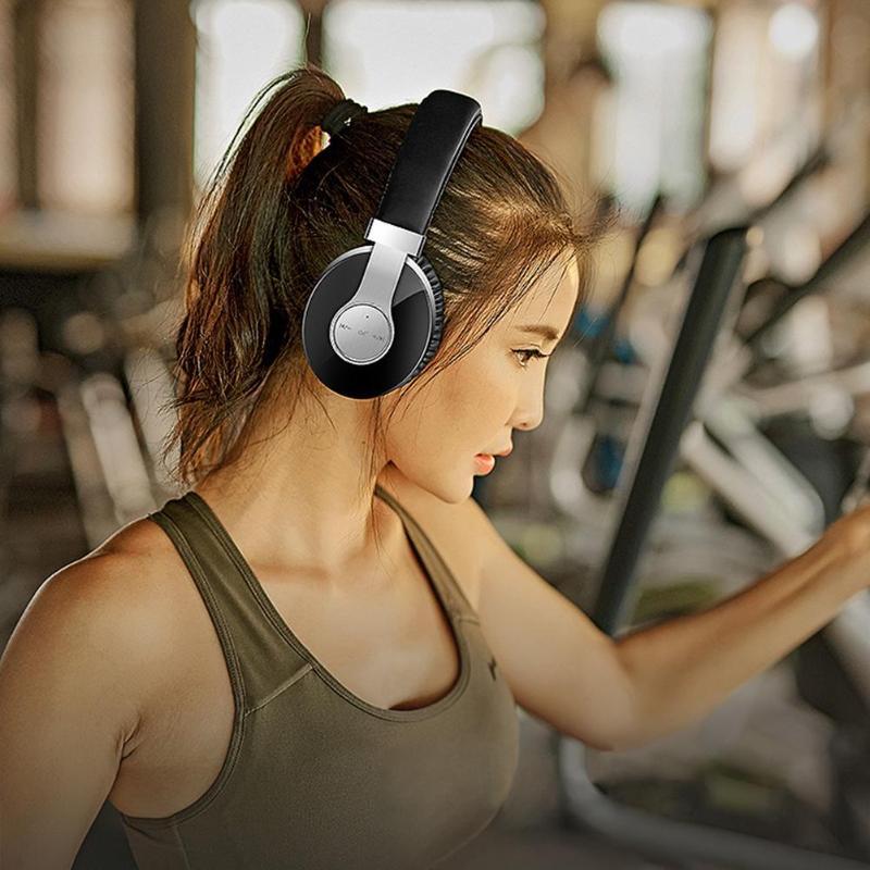 T9 CSR casque sans fil Bluetooth stéréo HiFi MP3 Bluetooth V4.2 Sport casque sans fil avec Microphone pour téléphone intelligent - 6