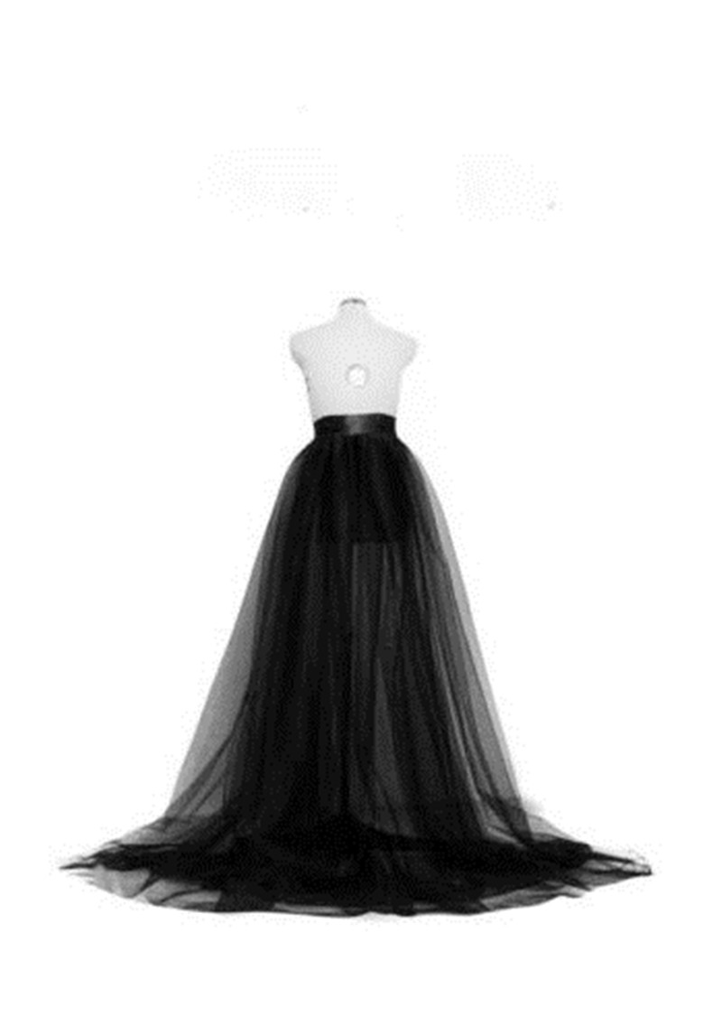 Summer Women Tutu Mesh Skirt 2019 New Arrival Long Maxi Full Length Skirt Party Wedding Prom Elastic Waist Princess Tulle Skirts