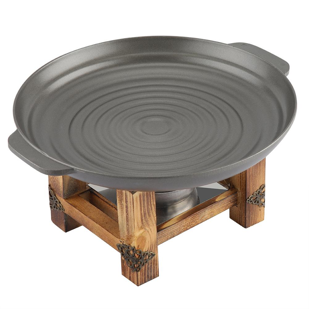Dish Thickened Korean Grill 25cm  3