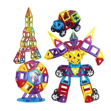 Large Size Magnetic Bocks Builder Children Model Designer And Construction Toy Educational For