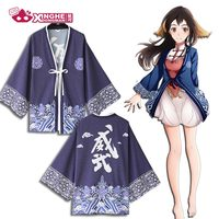 Milky Way Chinese Style ancient dynasty original Haori traditionnel kimono Harajuku Haori Coat Yukata cosplay jacket