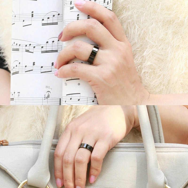 Allergie Freie Einfache Titan Schwarz Heißer Verkauf Geschenke Mode Männer's Bevorzugte 1PC Graceful 2020 Neue Ankunft Hochzeit Schöne ring