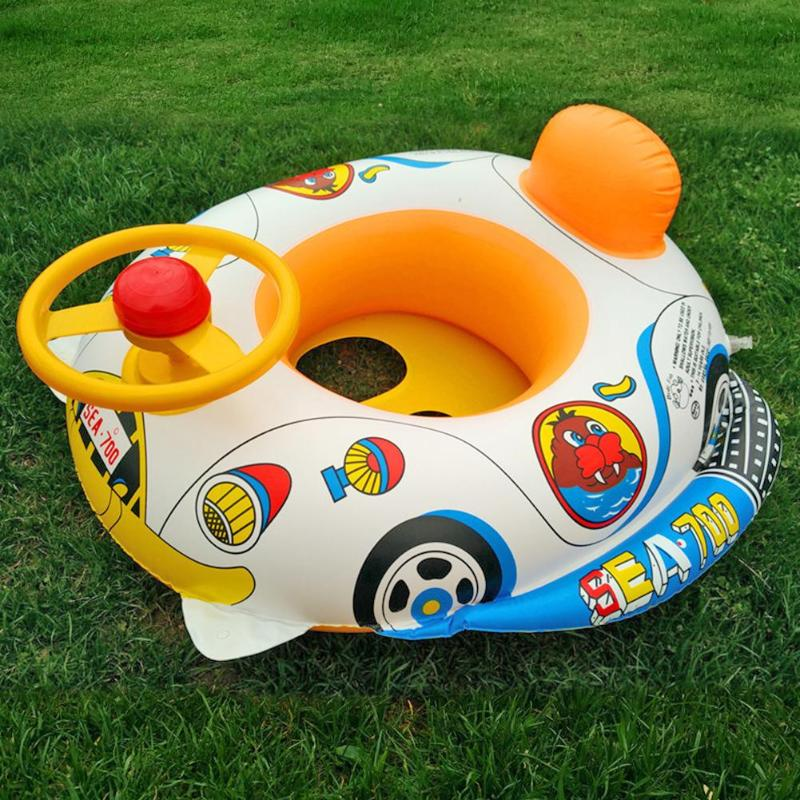 Child Infant Swimming Ring Baby Pool Seat Toddler Float Water Ring Aid Trainer Outdoor Water Playing Swimming Toys For Children