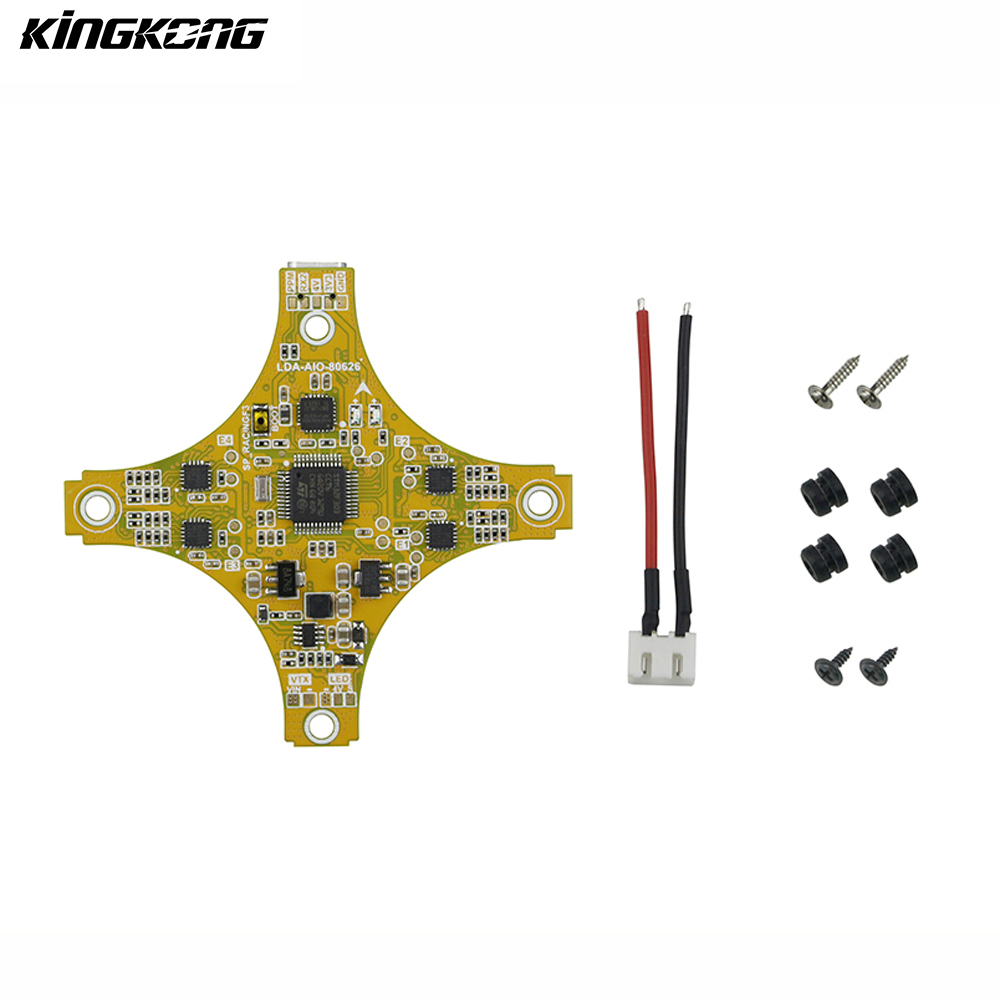 KINGKONG LDARC TINY GT7 GT8 FPV Racing Drone Spare Part F3E10A SPRACING F3 Flight Controller 10A