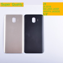 10Pcs/lot J4 For Samsung Galaxy J4 2018 SM-J400F J400F J400FN J400DS J400G Housing Battery Cover Back Cover Case Rear Door смартфон samsung galaxy j4 sm j400f gold