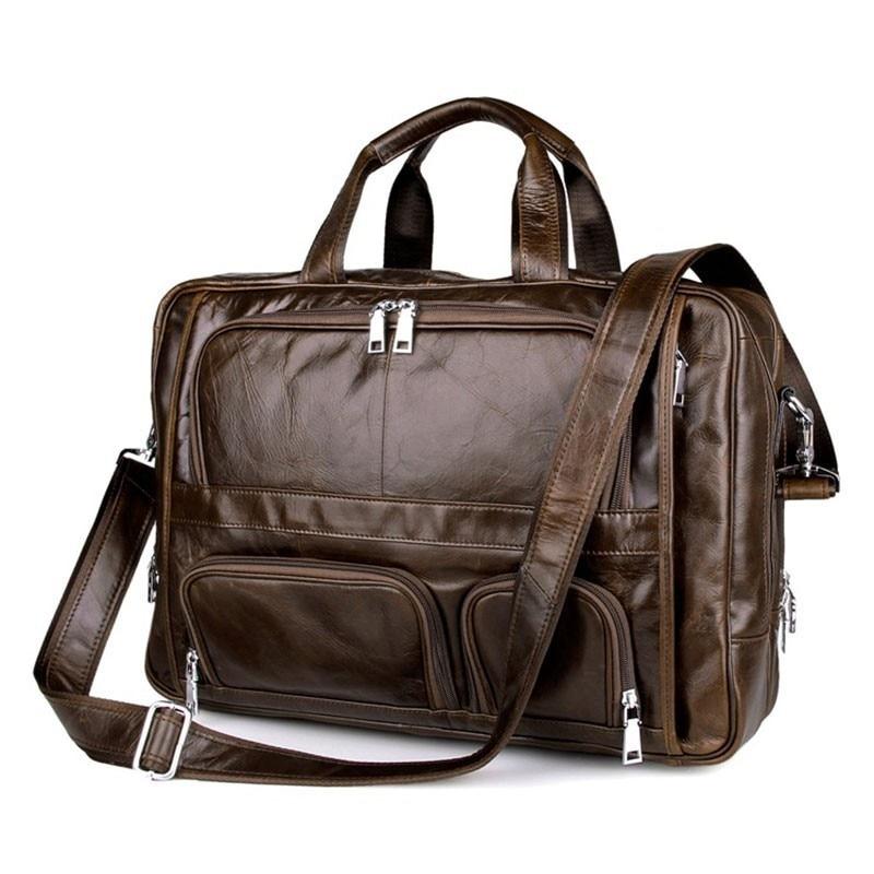 New Large Capacity Genuine Leather Male Business Travel Bag Men Leisure Satchel Man Handbag Fit 16 Inch Laptop PR588136New Large Capacity Genuine Leather Male Business Travel Bag Men Leisure Satchel Man Handbag Fit 16 Inch Laptop PR588136
