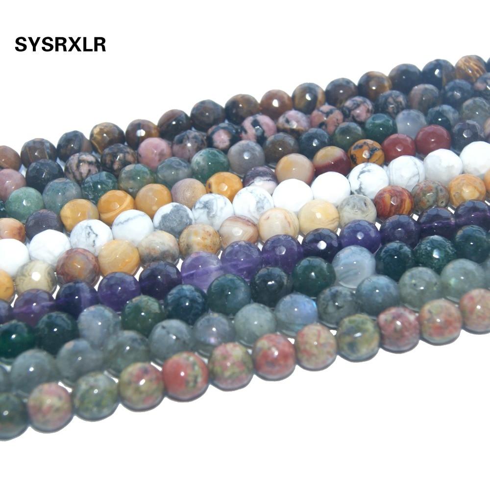 "4-9mm Lapis Lazuli Chips Gemstone Loose Beads Strand 35/"" DIY Jewelry Making"