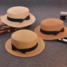 XUYIJUN padre-hijo sol sombrero lindo niños sombreros de sun arco hecho a  mano las mujeres de paja cap playa gran sombrero de al. 8e9e4585fcf7