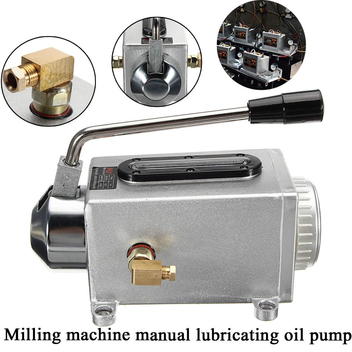 Y-8 à main manuelle pompe lubrification pompe de poinçonnage Machine à huile CNC