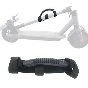 Image 1 - Folding Scooter Handles For Ninebot Es2 Es1 For Xiaomi M365 Modified Carry Strips Bandage Accessories Electric Scooter Parts