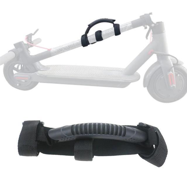 Maniglie per Scooter pieghevoli per Ninebot Es2 Es1 per Xiaomi M365 strisce di trasporto modificate accessori per bendaggi parti di Scooter elettrici
