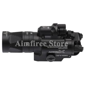 Laser Flashlight Combo For Pistol   Tactical X400V Pistol Flashlight Red Laser Combo Constant Momentary Strobe Output Weapon Light Rifle Flashlight