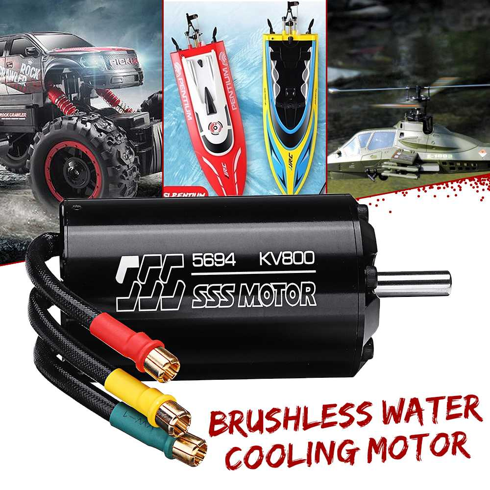 SSS 5694 KV800 6-Pole Brushless Internal Rotor Water Cooling Motor For RC Boats/Cars/PlanesSSS 5694 KV800 6-Pole Brushless Internal Rotor Water Cooling Motor For RC Boats/Cars/Planes