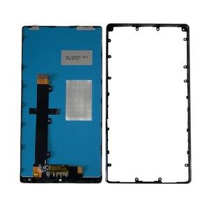 """Image 4 - Оригинальный 6,4 """"M & Sen для Xiaomi Mi Mix /Mi Mix Pro 18k версия керамическая средняя рамка ЖК экран дисплей + сенсорная панель дигитайзер Рамка"""