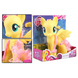 Image 2 - 22cm My Little Pony Toys Rarity Apple Jack Rainbow Dash Princess Celestia Action Figure Collection Model Doll For Kids Gifts