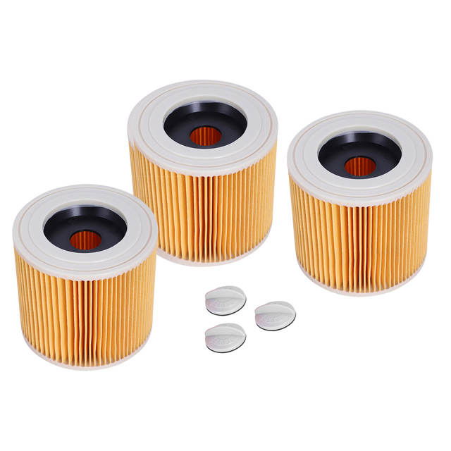 Cartridge Filter For Karcher WD2200 WD2210 WD2240 Wet & Dry Vacuum Cleaners