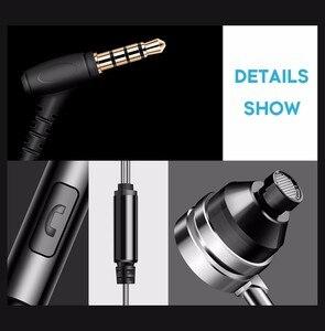 Image 5 - HiFi באוזן אוזניות מתכת סטריאו בס אוזניות fone דה ouvido עם מיקרופון עבור iPhone Xiaomi MP3 רעש ביטול