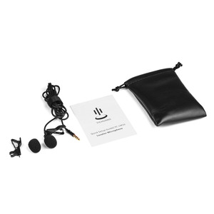 Image 3 - Lavalier Lapel Clip on Microphone Mic 3.5mm Audio Mic for Smartphone Camera Computer Laptop for Video Recording Interview