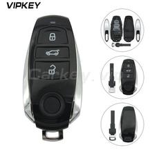 Remotekey 3 button Smart remote Key shell fob For Volkswagen vw Touareg 2011-2014 7P6959754AL 7P6 959 754 AS 7P6 959 754 AP 959 3