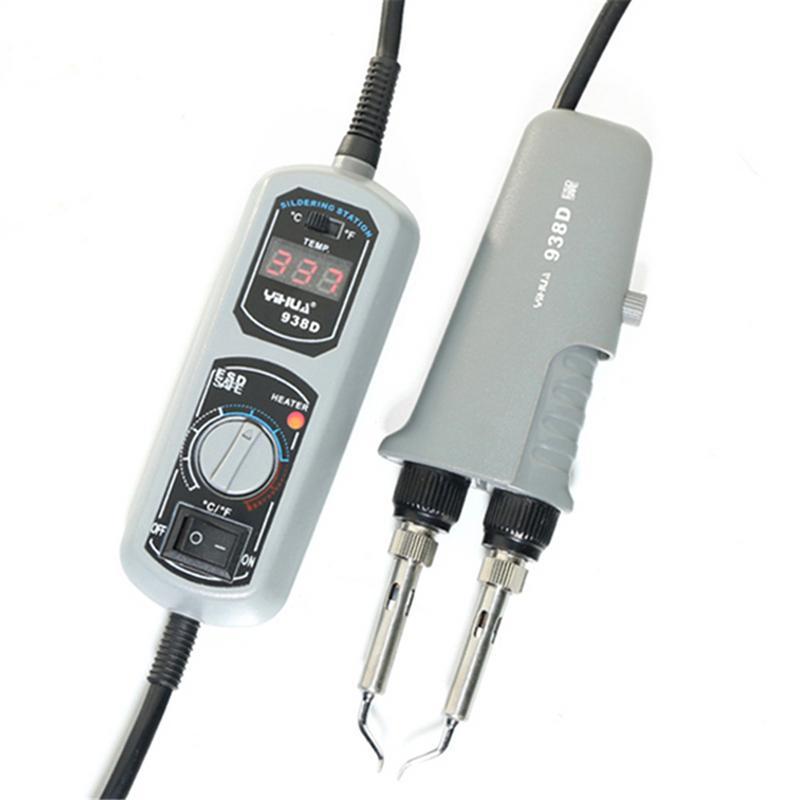 938D Mini Tweezers Portable Soldering Station 110V 220V YIHUA Tweezers Soldering Iron Station For Soldering yihua 936a soldering station 220v soldering tool