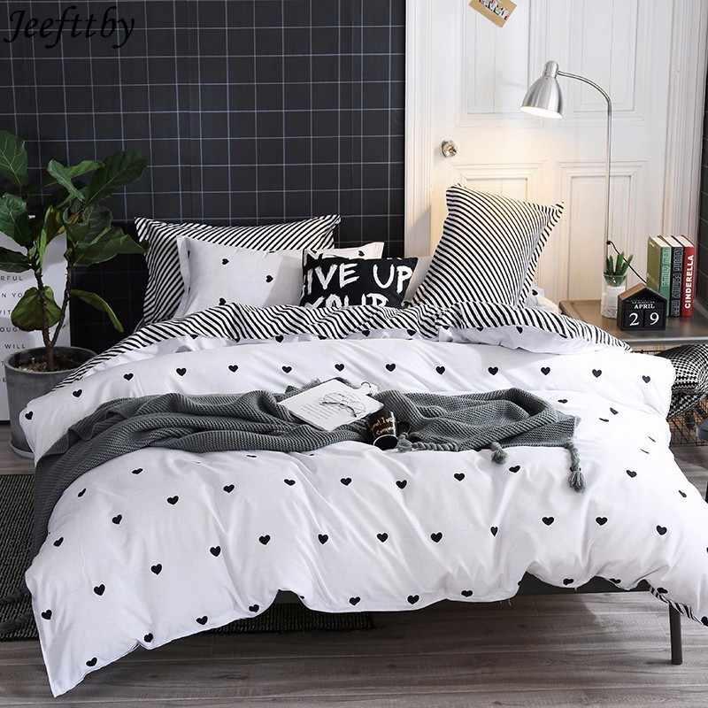 home textile love simple white bedding