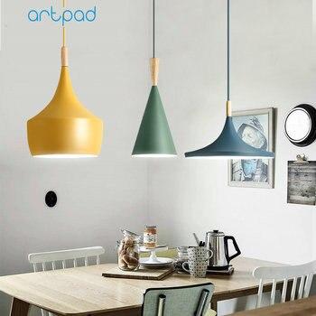 3 أضواء الحديثة قلادة أضواء لغرفة المعيشة غرفة نوم المطبخ مكتب مطعم فندق الملونة E27 LED شنقا مصابيح