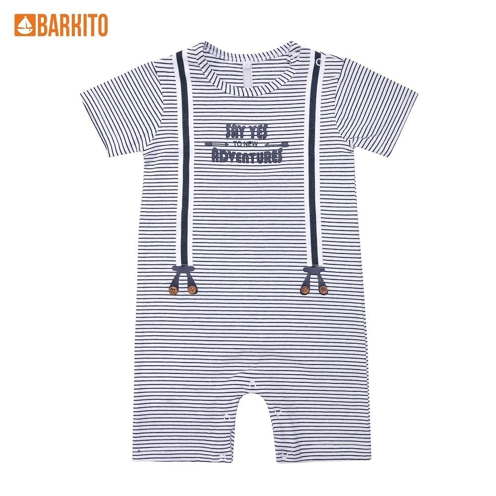 Overalls Barkito 338995 children clothing 31A-30514KOR Cotton Blue Boys цены онлайн