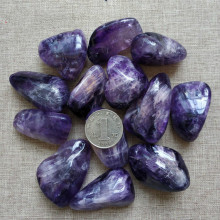 100g Natural amethyst gravel original stone degaussing energy repair gemstone quartz