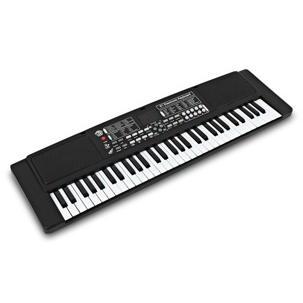 61 clés électronique orgue clavier Piano enfants Instrument de musique jouet pour enfants numérique musique jouets noël cadeau d'anniversaire - 2