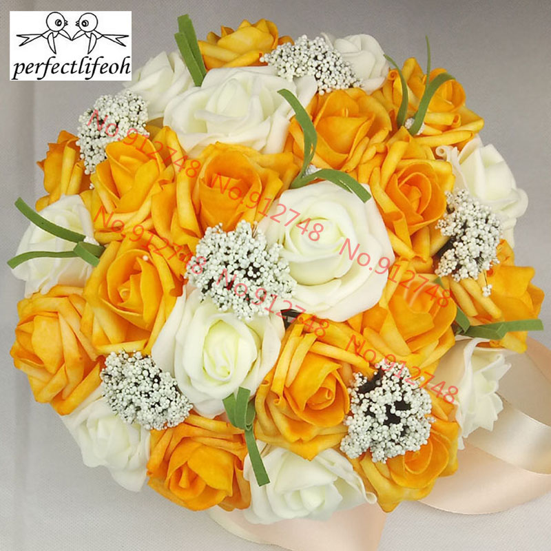 Detail Feedback Questions About Perfectlifeoh Bridal Bouquets Bride