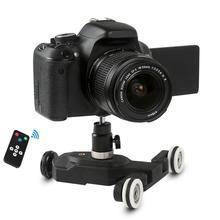 BEESCLOVER 3 колеса Wirelesss видео Камера автоматическая тележка Скейтер для железнодорожных путей для DSLR Камера s видеокамеры iPhone r25