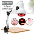 220 V 100 W E27 инфракрасная физиотерапия Взрывозащищенная лампа обогреватель для боль в мышцах холодный облегчающий боль для фототерапии инфра...