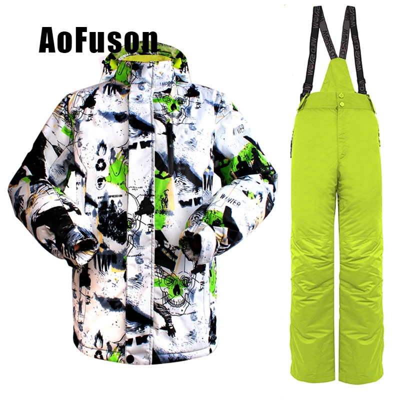 2018 nouvelle marque imperméable combinaison de Ski chaud hiver veste de Ski pantalon de Ski en plein air neige Snowboard veste pantalon Snowboard ensembles