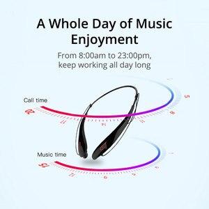 Image 4 - WXYY auriculares inalámbricos bluetooth, auriculares manos libres deportivos de gran capacidad con micrófono estéreo