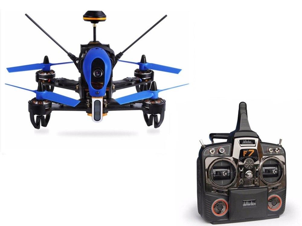 F18852/54 Walkera F210 3D Edition 2.4GHz 120 Degree HD Camera F3 3D Knocking Down the Wall Racing Drone RTF Devo7 Quadrocopter