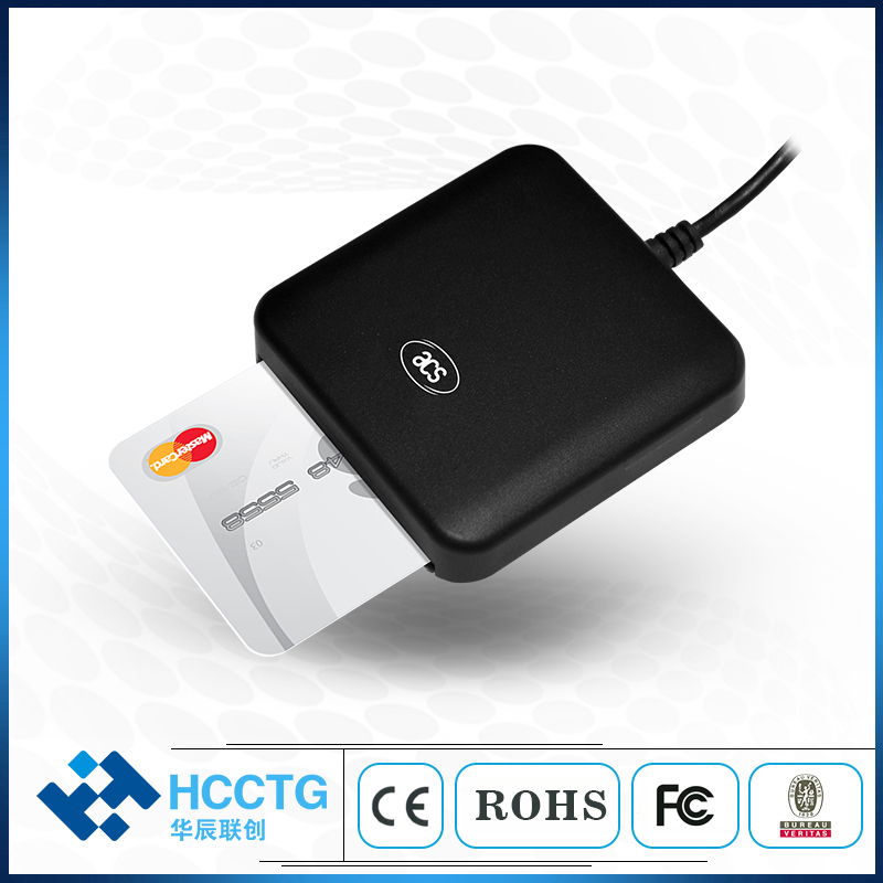 United Contact Iso7816 Smart Card Reader Portable Usb 2.0 Full Speed Chip Ic Conatct Credit Card Readers Acr39u Choice Materials