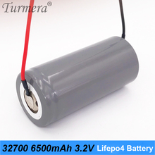 32700 battery charger 32700 lifepo4 3.2v 6500mah 33A 55A current for electric bike battery pack 36v 48v 52v + slodering wire