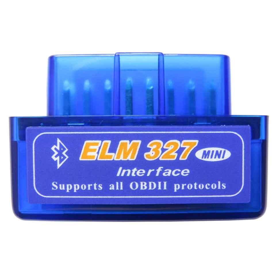 Ulme-327 OBDII Scanner Super Mini ELM327 Bluetooth V1.5 OBD2 Auto Diagnose Werkzeug Ulme 327 V 1,5 Für Andriod echt PIC1825K80 Chip