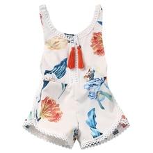 Tassiel One-Piece Suits Newborn Toddler Baby Kids Girls Print  Bikini Swimsuit Swimwear Bathing Suit цена