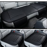 Universal Car Seat Protector Mat 1 Set For 5 Seat Car Seat Cover Winter Warm Front Back Rear Seat Cushion Pu Leather Breathable