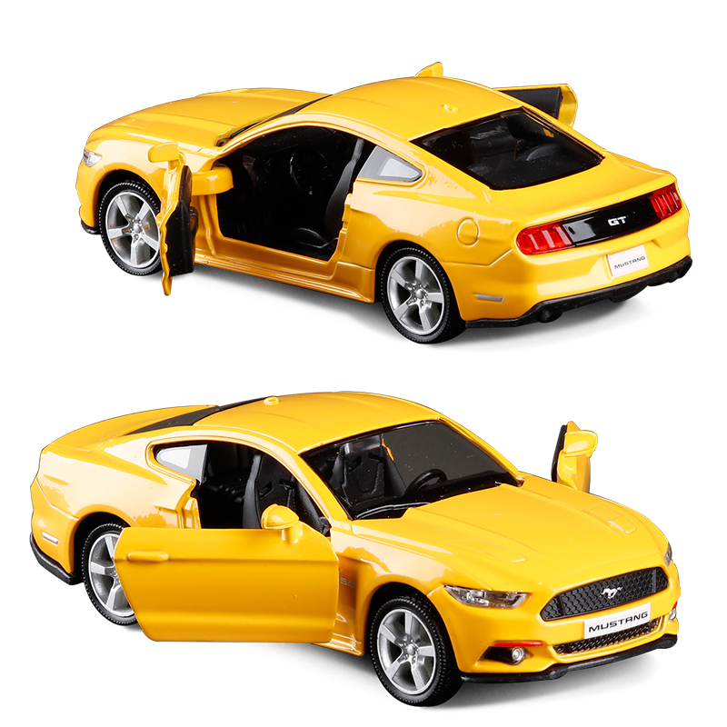 Ford Sports Car Models: 1:36 Scale Diecast Alloy Metal Luxury Sports Car Model For